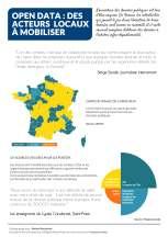 Open data : des acteurs locaux à mobiliser
